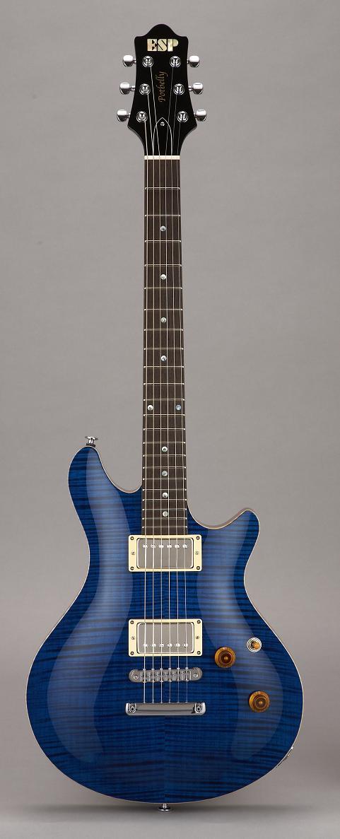 ESP POTBERRY Ocean Blue イーエスピー エレキギター ハードケース付属
