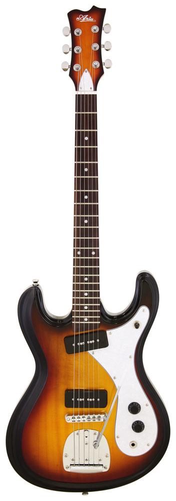 (特典あり)Aria Retro Classics DM-01 3TS アリア エレキギター DM01