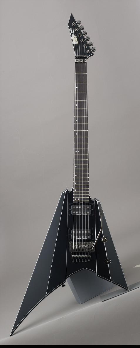 ESP ESP-AERO Black AX イーエスピー エレキギター ハードケース付属