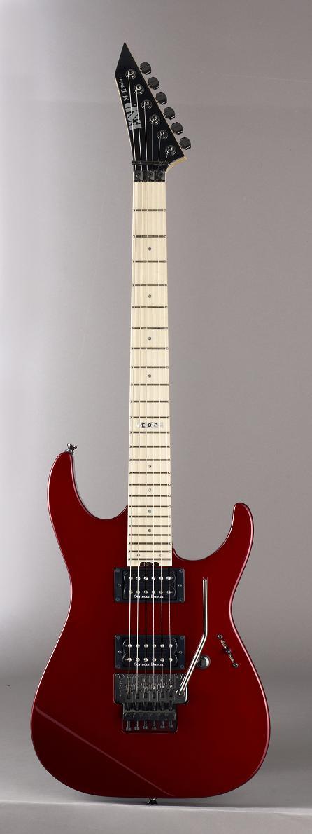 ESP M-II DX Deep Candy Apple Red(Maple FB) イーエスピー エレキギター メイプル指板 ギグケース付属