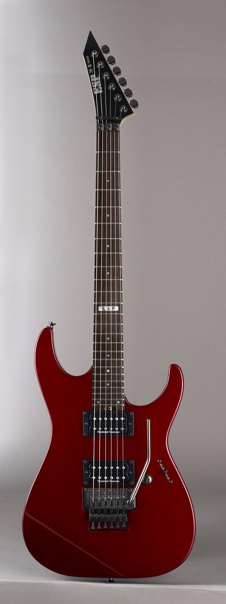 ESP M-II DX Deep Candy Apple Red(Rosewood FB) イーエスピー エレキギター ローズウッド指板 ギグケース付属