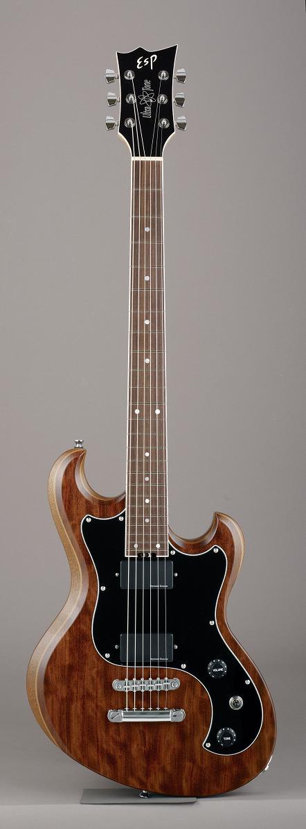 ESP ULTRATONE-SL Half Mat Old Natural イーエスピー エレキギター ギグケース付属