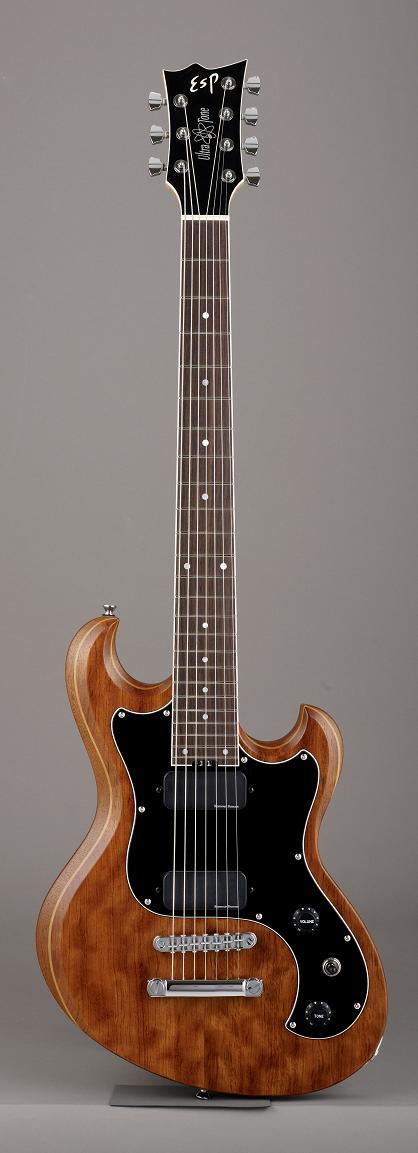 ESP ULTRATONE-SL7 Half Mat Old Natural イーエスピー エレキギター ギグケース付属