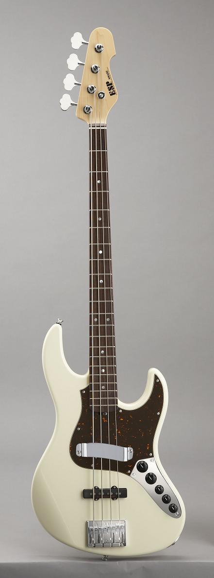 ESP AMAZE-ALR Vintage White イーエスピー エレキベース ギグケース付属