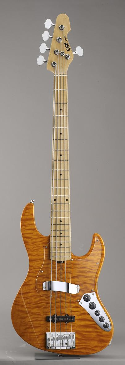 ESP AMAZE-SL5-CTM Amber イーエスピー エレキベース ギグケース付属