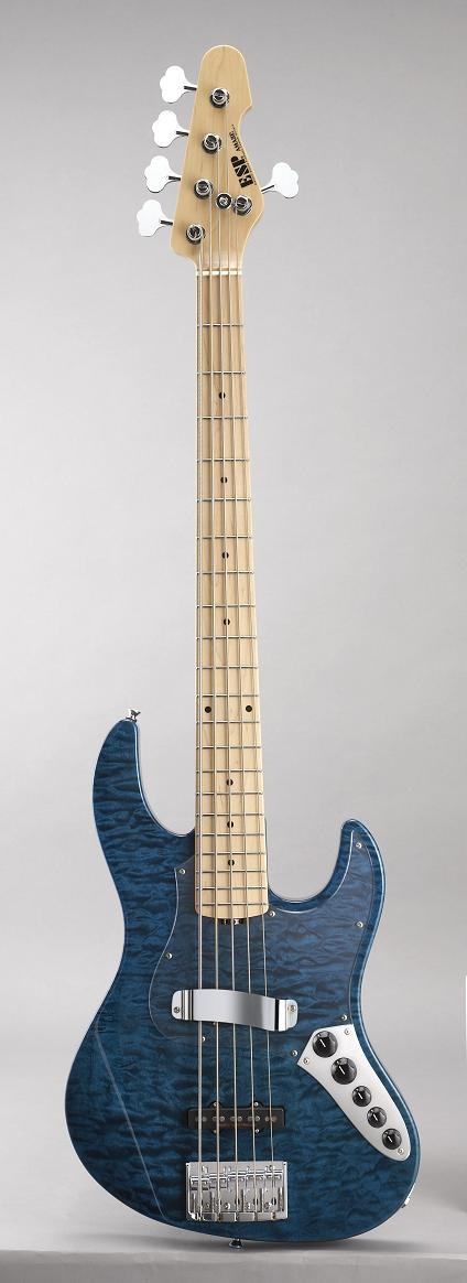 ESP AMAZE-SL5-CTM Ocean Blue イーエスピー エレキベース ギグケース付属