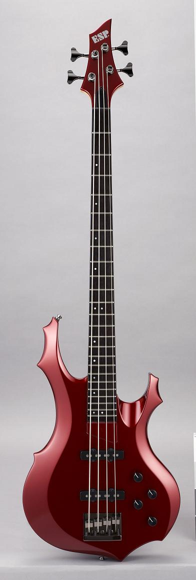 ESP FOREST-STD Deep Candy Apple Red イーエスピー エレキベース ギグケース付属