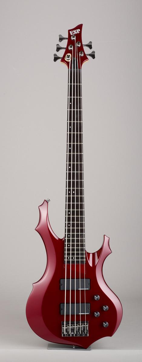 ESP FOREST-STD-SL5 Deep Candy Apple Red イーエスピー エレキベース ギグケース付属