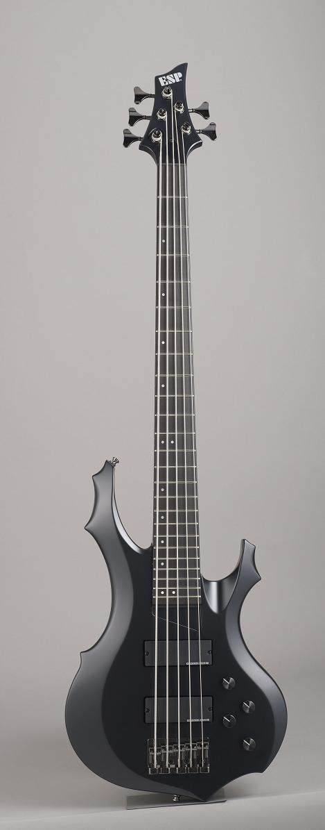 ESP FOREST-STD-SL5 Half Mat Black イーエスピー エレキベース ギグケース付属