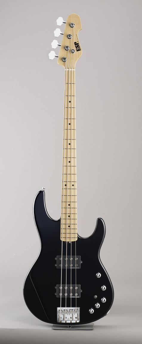 ESP AP-SL Black/Maple イーエスピー エレキベース メイプル指板 ギグケース付属