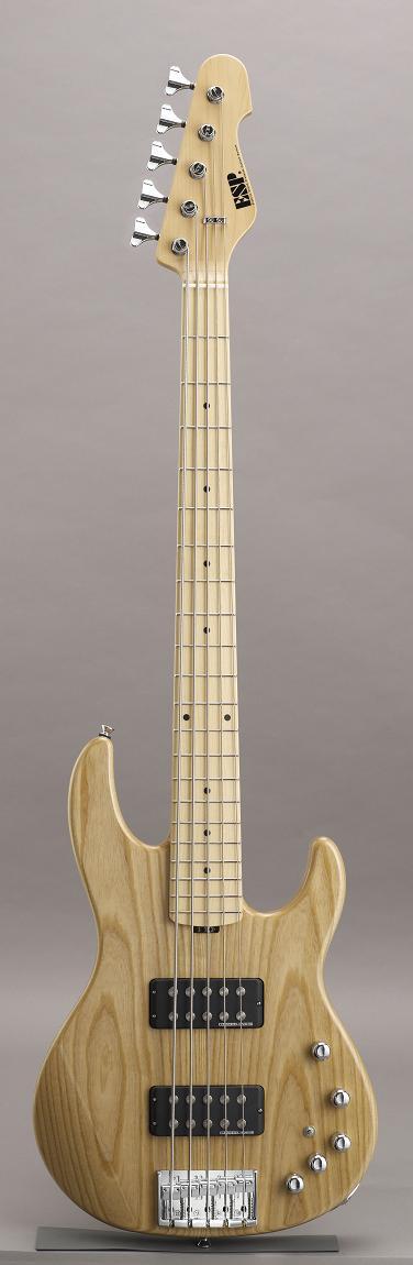 ESP AP-SL5 Satin Natural /Maple イーエスピー エレキベース メイプル指板 ギグケース付属