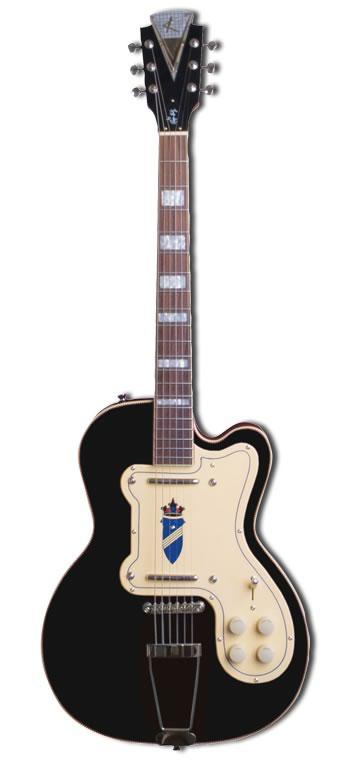 KAY Thin Twin Black ジミー・リード、ハウリン・ウルフ愛用エレキギター K161VBK