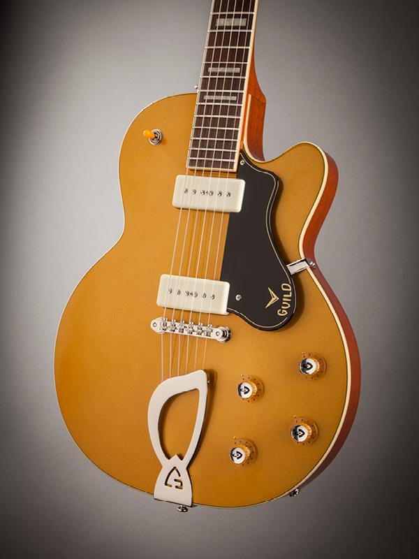 Guild Newark St.Collection M-75 ARISTCRAT GLD *ハードケース付き ギルド エレキギター M75 Aristcrat ゴールド
