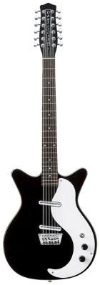 (お取り寄せ)Danelectro ダンエレクトロ エレクトリックギター 59 12 STRING ブラック 59 12STRING BLK *オリジナルギグバッグ付き