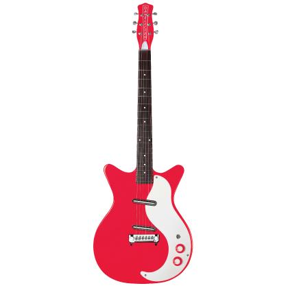 (お取り寄せ)Danelectro ダンエレクトロ エレクトリックギター Model 59 M New Old Stock RIGHT ON RED 59M NOS RED *オリジナルギグバッグ付き