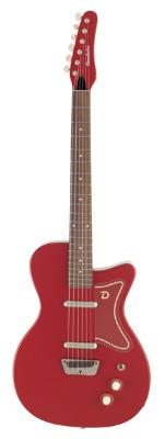 (お取り寄せ)Danelectro ダンエレクトロ エレクトリックギター 56 SINGLE CUTAWAY GUITAR RD レッド *オリジナルギグバッグ付き