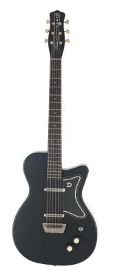 (お取り寄せ)Danelectro ダンエレクトロ エレクトリックギター 56 SINGLE CUTAWAY GUITAR BLK(BK)ブラック *オリジナルギグバッグ付き