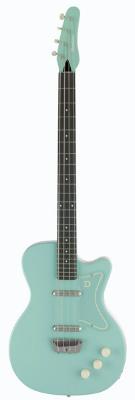(お取り寄せ)Danelectro ダンエレクトロ エレクトリックギター 56 SINGLE CUTAWAY BASS AQ ベースギター アクア *オリジナルギグバッグ付き