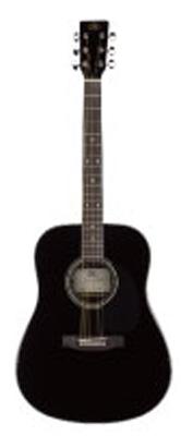 (お取り寄せ)SX Guitars アコースティックギター SD1-BLK(SD1BLK)*キャリングバッグ付き