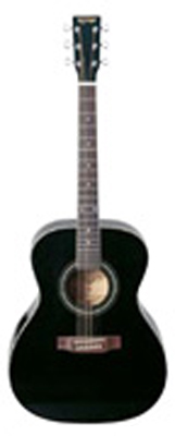 K-Garage Guitars アコースティックギター KF-150-BLK(KF150BLK)ブラック *キャリングバッグ付き