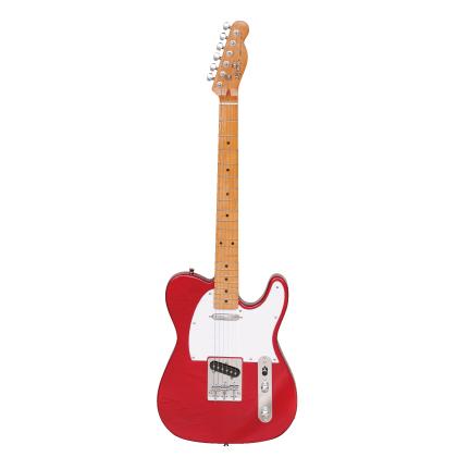 (お取り寄せ)K-Garage エレキギター KTL-170 CAR(KTL170CAR)キャンディーアップルレッド *ソフトケース付き