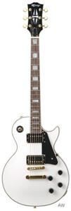 (お取り寄せ)K-Garage エレキギター KLP-360 AW(KLP360AW)アルペンホワイト *ソフトケース付き