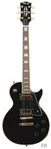 (お取り寄せ)K-Garage エレキギター KLP-360 EB(KLP360EB)エボニー *ソフトケース付き