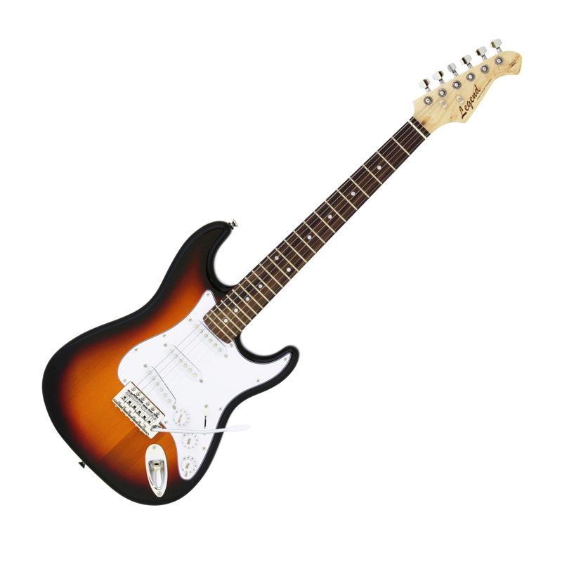 Legend LST-MINI 3TS(3 Tone Sunburst)ミニサイズのエレキギター ミニギター