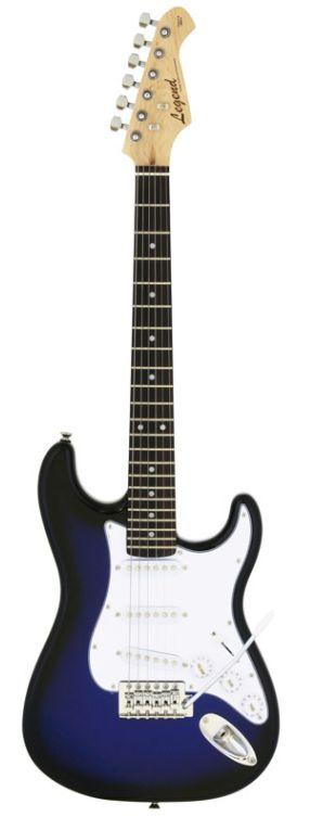 Legend LST-MINI BBS(Blue Black Sunburst)ミニサイズのエレキギター ミニギター