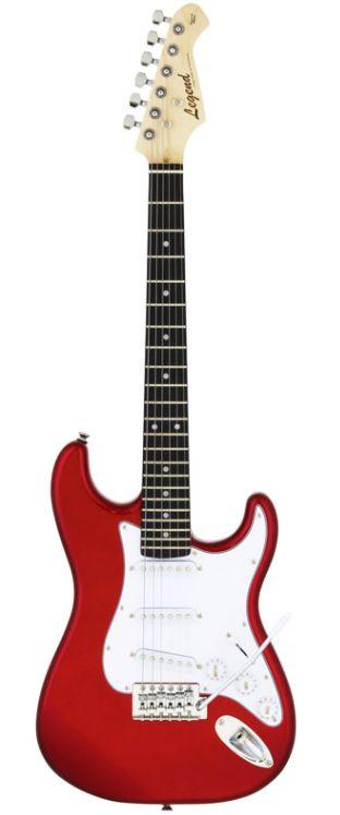 Legend LST-MINI CA(Candy Apple Red)ミニサイズのエレキギター ミニギター