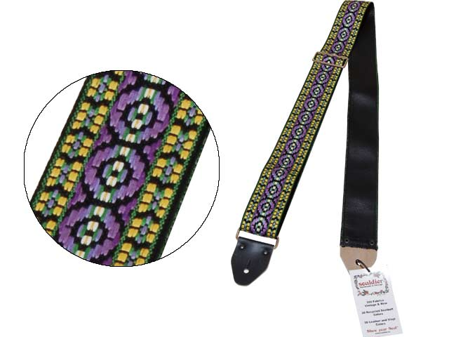 Souldier Ace Replica Straps Bohemian Purple 70年代のAce Strapのレプリカストラップ
