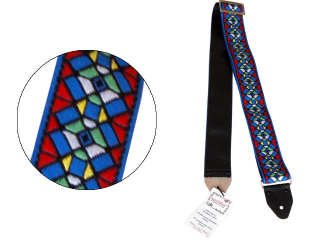 Souldier Ace Replica Straps Stained Glass Royal 70年代のAce Strapのレプリカストラップ