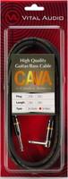 VITAL AUDIO CAVA3 並行輸入品 3M S L バイタルオーディオ Series 3m CAVA Cobalt-α まとめ買い特価 ギターケーブル