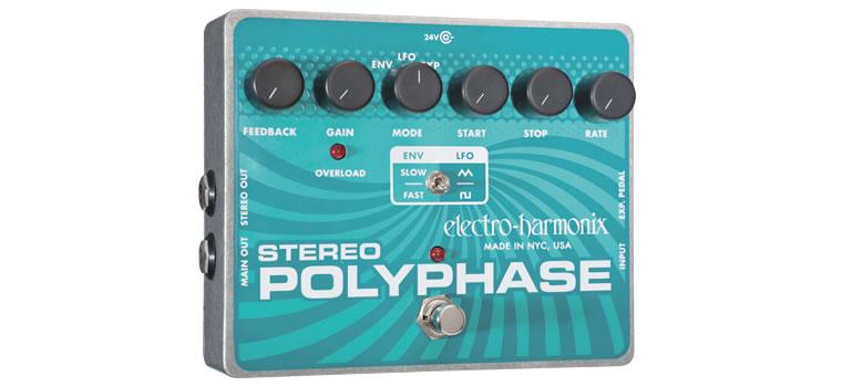 エレハモ フェイザー Stereo Polyphase
