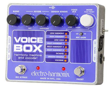 Voice harmonix Box (お取り寄せ)ハーモニーマシーン&ボコーダー electro