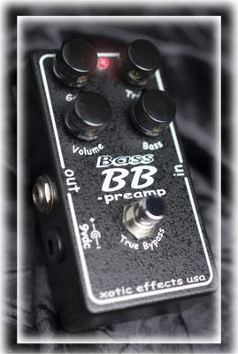 Xotic Bass BB PREAMP エキゾチック ベース用プリアンプ