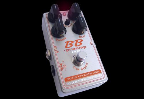 (お取り寄せ)Xotic BBP-MB BB Preamp with Mid-boost KnobBB-Preampにミッドブースト機能を増設 ディストーション custom shop BBPMB