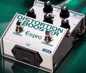 Ex-pro D&B DISTORTION&OVERDRIVE イーエクスプロ ディストーション Expro