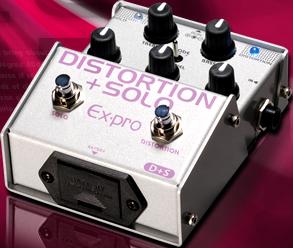 Ex-pro D+S DISTORTION+SOLO イーエクスプロ ディストーション Expro