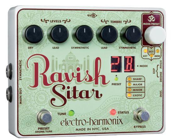 (お取り寄せ)electro-harmonix Ravish Sitar ギターをシタールにする魔法のペダル エレハモ