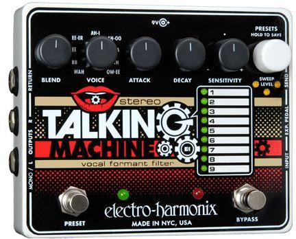 (お取り寄せ)エレクトロハーモニクス エフェクター ボーカル・フォルマント・フィルター Electro Harmonix Stereo Talking Machine