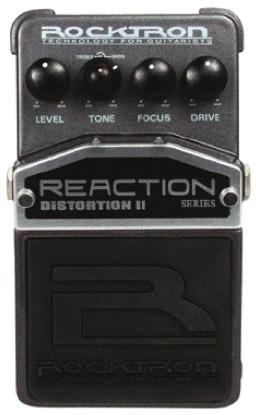 (お取り寄せ)ROCKTRON Reaction Distortion II ロックトロン ディストーション RT1921