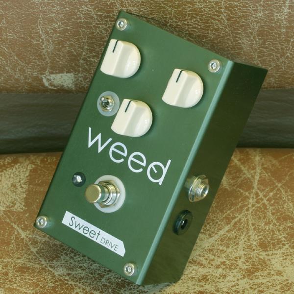 weed Sweet DRIVE-GREEN ウィード エフェクター オーバードライブ WEED SWEET DRIVE GREEN
