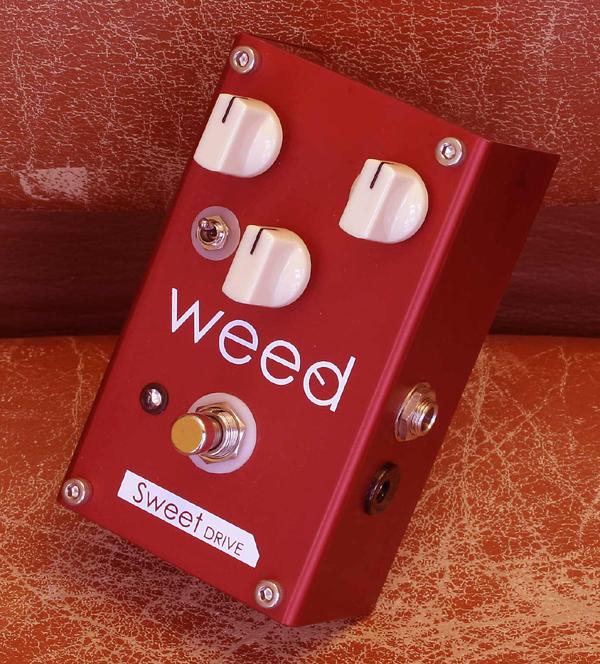 (お取り寄せ)weed Sweet DRIVE-RED ウィード エフェクター オーバードライブ WEED SWEET DRIVE RED