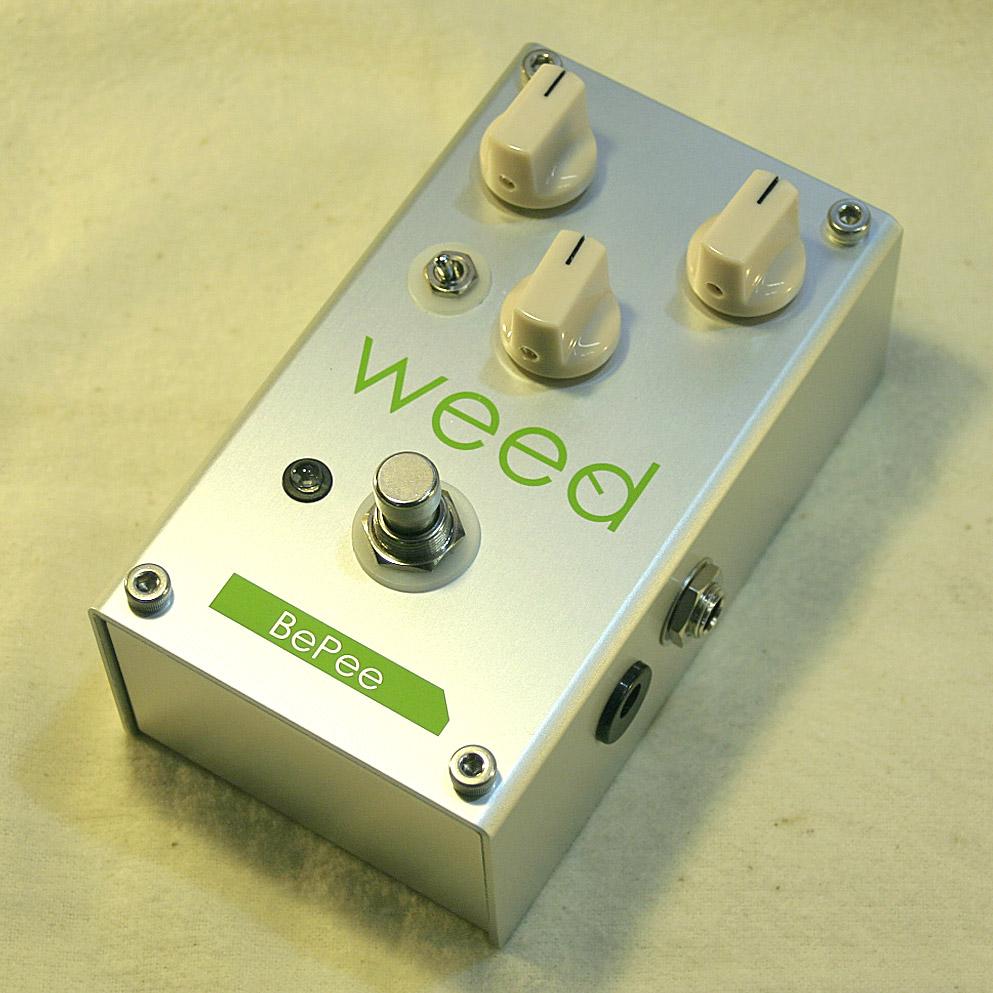(お取り寄せ)weed BePee / Bass Preamp ウィード エフェクター ベース用プリアンプ WEED BEPEE