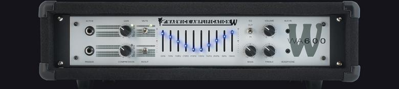 (お取り寄せ)WARWICK WA600S ワーウィック 600Wベースアンプ アンプヘッド