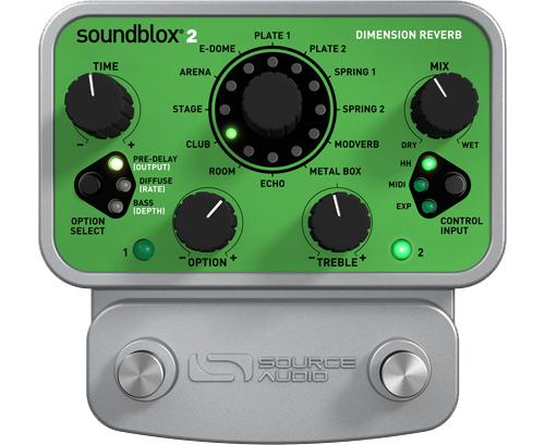 (お取り寄せ)Source Audio SA225 Dimension Reverb (OKADA) ディレイ/リバーブ