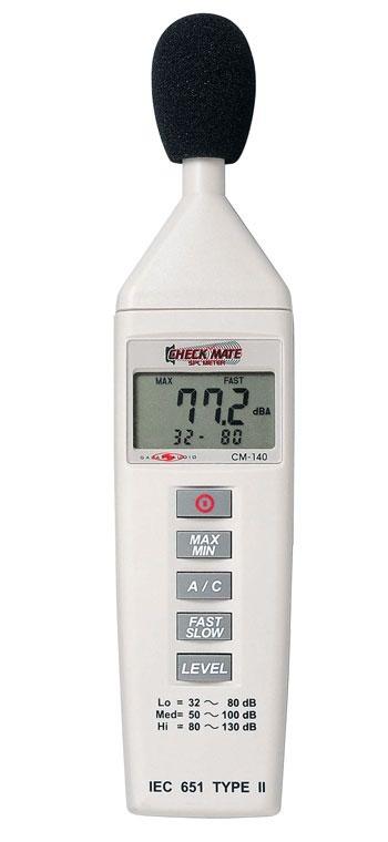 Galaxy Audio Check Mate CM-140 音圧レベルメーター(騒音計)CM140