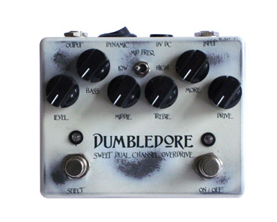 WEEHBO Effekte DUMBLEDORE(2757)(DUMBLEDORE SWEET DUAL CHANNEL OVERDRIVE)ダンブルドア オーバードライブ