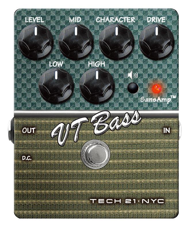 TECH21 SansAmp VT Bass ベース用アンプシミュレーター
